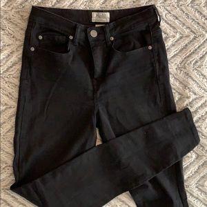 Mudd black skinny jeans jegging fit size 7